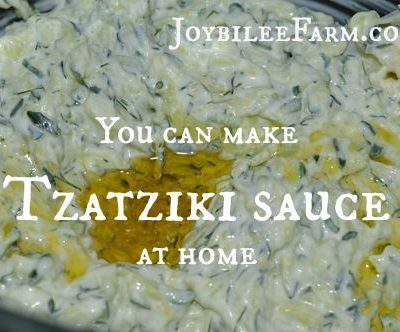 Stop buying this! You can make Tzatziki sauce at home