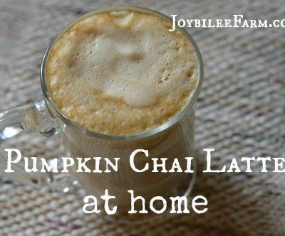 Pumpkin Chai Latte at Home that's Better than Starbucks
