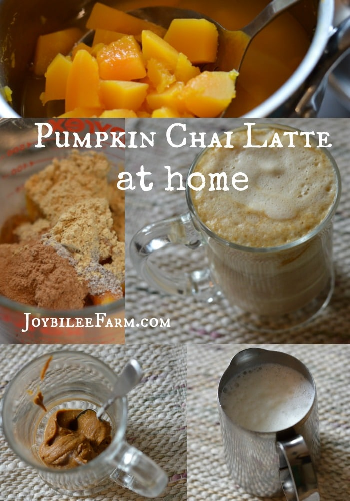 Pumpkin Chai Latte at Home -- Joybilee Farm