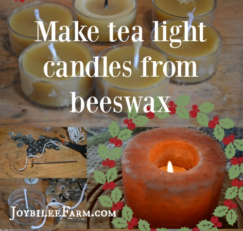 Beeswax tea light candles are one of the easiest candles to make. Even the novice who is just learning how to make a candle will have immediate success with beeswax tea lights.
