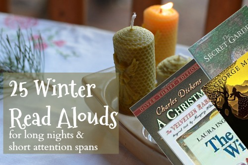 As the long days of winter stretch on, fill your nights with books that are perfect for read alouds. Even people with short attention spans will love it.