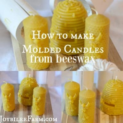 How to make a candle: Molded Candles