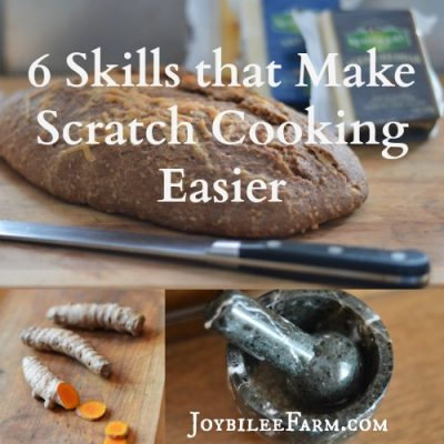 6 Basic Skills that Make Scratch Cooking Easier