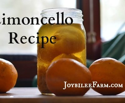 Limoncello recipe using Meyer Lemons
