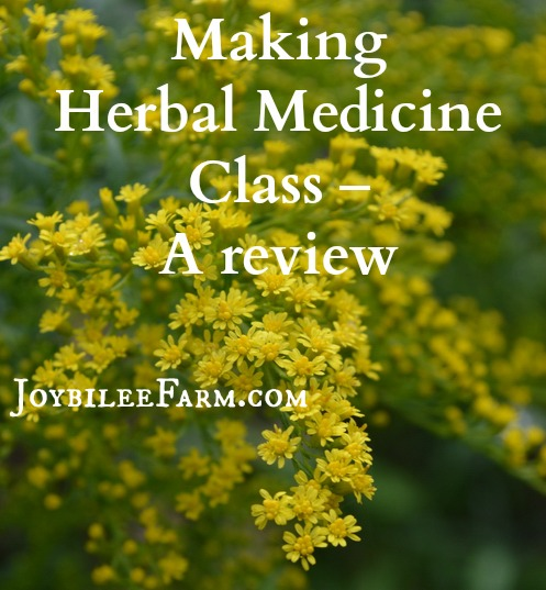 Making herbal medicine Review small