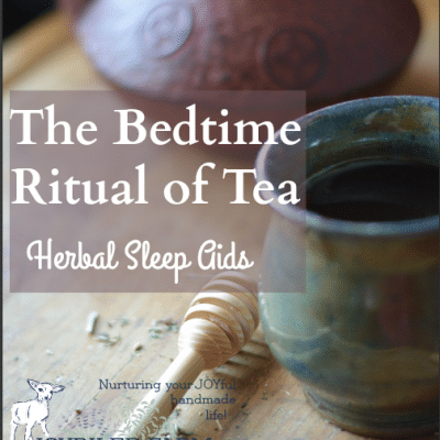 Natural Sleep Aids — Bedtime Tea