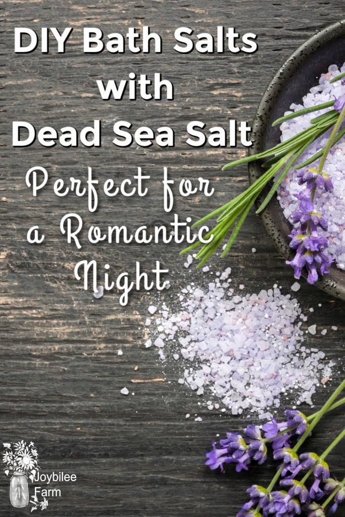Bath salts and lavender on a black background