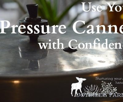 Use Your Pressure Canner with Confidence