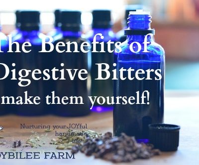 The Benefits of Digestive Bitters – make them yourself