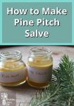 Pine Pitch Salve