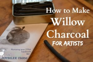 How to Make Willow Charcoal for Artists