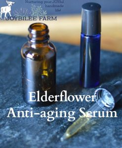 Elderflower Anti-aging Serum for Older Complexions
