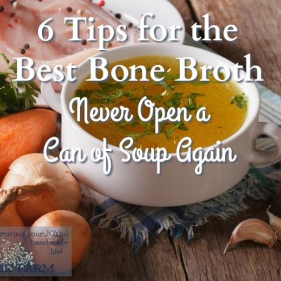 6 Tips for the Best Bone Broth: Never Open a Can of Soup Again