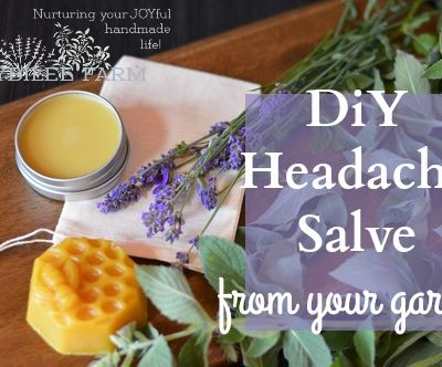DIY Headache Salve from Your Garden