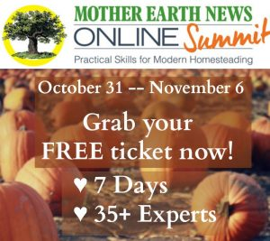 Watch the Mother Earth News Homestead Summit This Week for Free