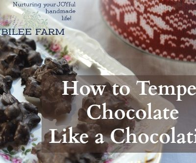 How to Temper Chocolate Like a Chocolatier