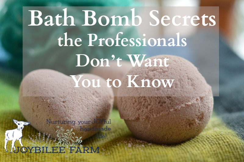 Bath Bomb Secrets the Professionals Don't Want You to Know