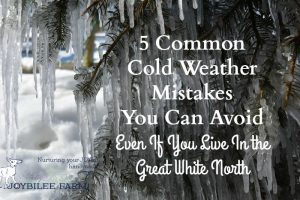 5 Common Cold Weather Mistakes You Can Avoid, Even If You Live In the Great White North