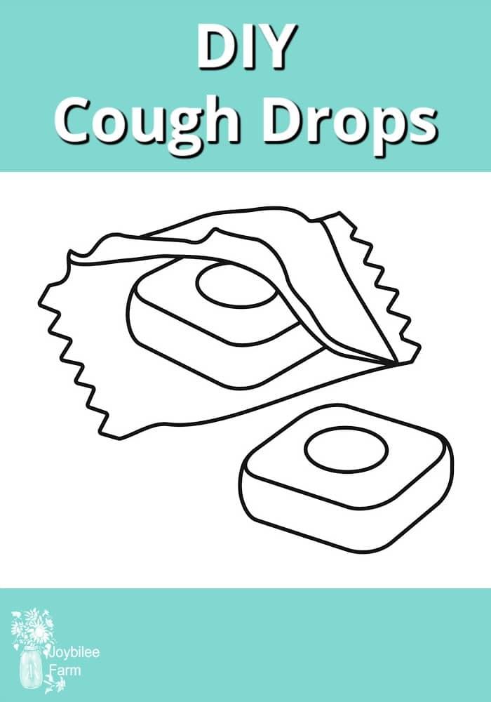 illustration of cough drops