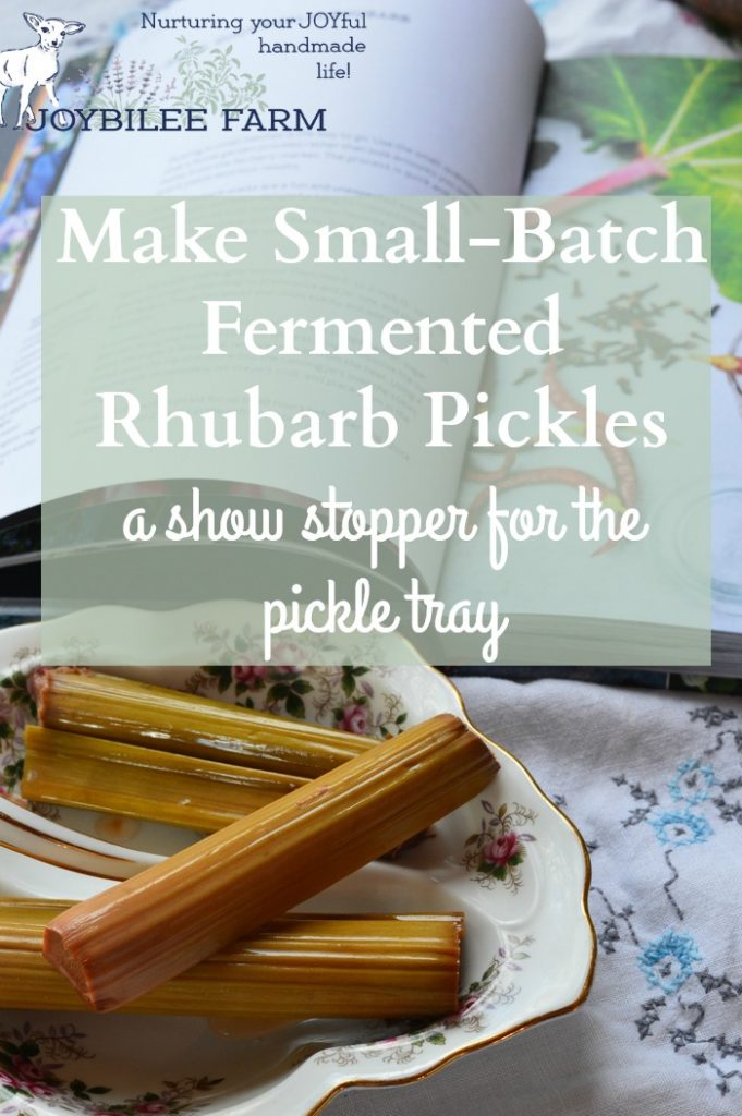 Fermented rhubarb pickles are ready in 5 to 7 days. Leave them for a month and the flavours will merge into a tart-sweet delight. They'll keep in the fridge for a year, so go ahead and make a few jars while the rhubarb is at its peak of ripeness.