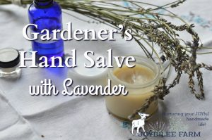 Gardener's Hand Salve with Lavender
