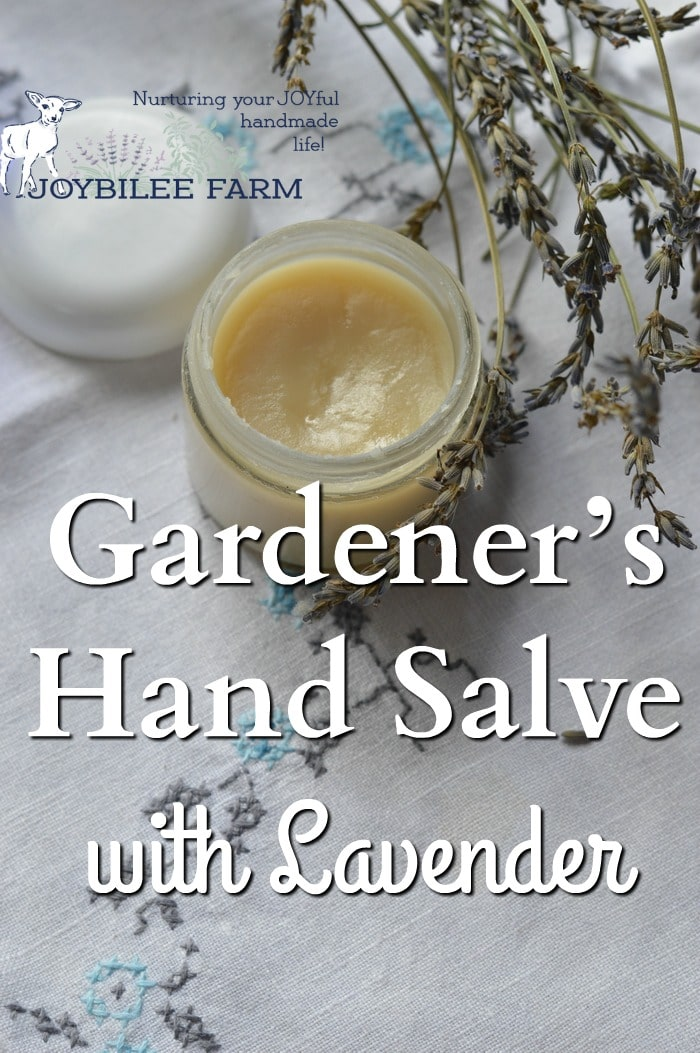This is a soothing, anti-inflammatory, and antimicrobial hand salve that can be used as a moisturizer for dry, damaged skin. Use it on bug bites, scrapes, cuts, eczema, and hives. Scratched up gardening hands will find relief with this comforting hand salve.