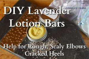 DIY Lavender Infused Lotion Bars