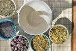 Herbal bath tea soothes and cools summer skin rashes, bites, and minor sun burns, while it calms and relaxes. You can make it in minutes from the herbs in your garden. This DIY herbal bath tea project makes a lovely and unique gift for those who could use a little spa time in their hectic schedule. Bring the healing power of herbs to your bathing rituals.