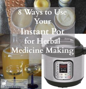 8 Ways to Use Your Instant Pot for Herbal Medicine Making