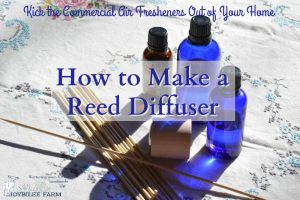 How to Make a Reed Diffuser and Kick the Commercial Air Fresheners Out of Your Home