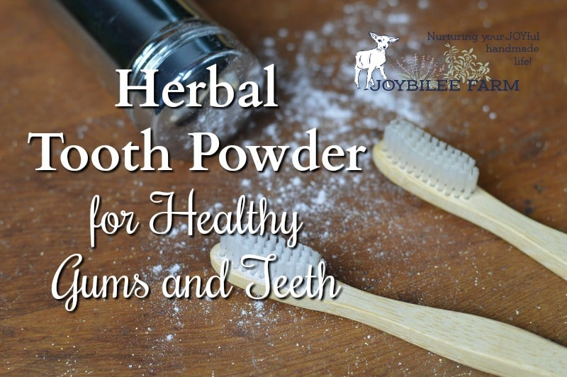 DIY herbal tooth powder can be part of a healthy self-care program that works to keep your teeth strong and avoid unnecessary dental trauma.