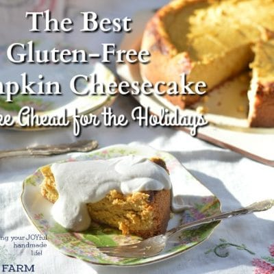 The Best Gluten-Free Pumpkin Cheesecake to Make Ahead for the Holidays