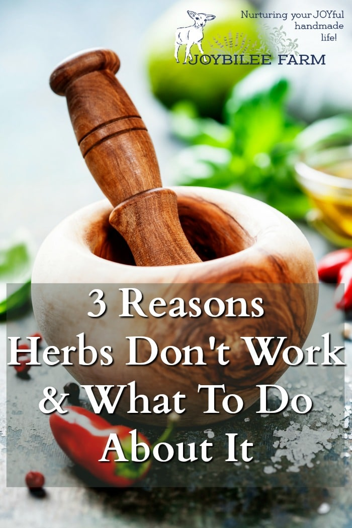 Understanding herbal energetics may be the key to finding the sweet spot between herbal remedies, personal constitution, and herbs that heal. When herbs don't work here's what you can do.