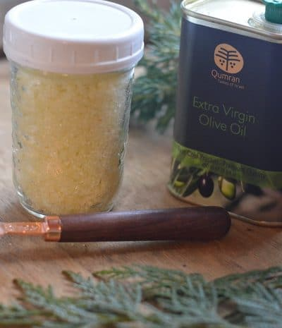 Salt Scrub Recipe Inspired by the Holy Land for Skin that Glows