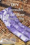 You can make this DIY lavender eye pillow for headache relief in 30 minutes or less, using study cotton fabric scraps. That's almost instant relief. Give it as a gift, keep one for yourself. It's microwavable and freezer proof for fast relief of tension headaches and some migraine headaches.