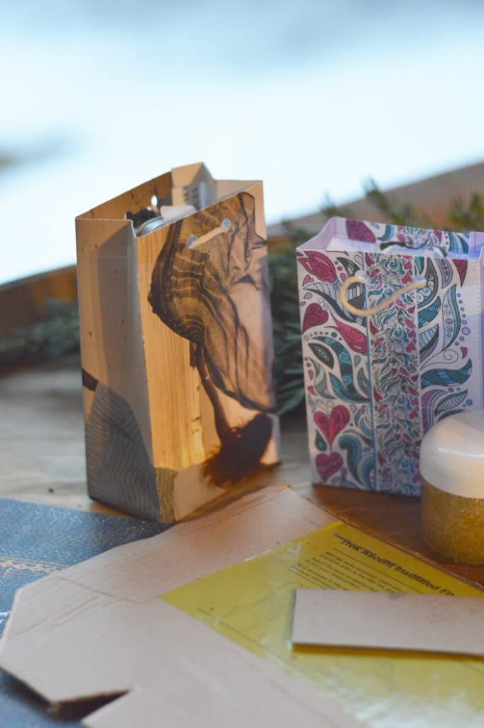 Learning how to make a gift bag that compliments your handmade gifts is easy and satisfying. DIY gift bags can be made with beautiful paper, glossy magazine pages, seed catalogs, and calendar pages. They add a thoughtful touch to handmade gifts.