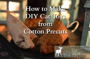 How to Make DIY Cat Toys from Cotton Precuts