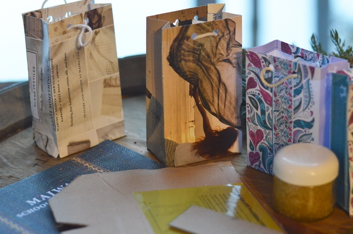 Diy Handmade Calendar : How to make a gift bag from beautiful recycled papers