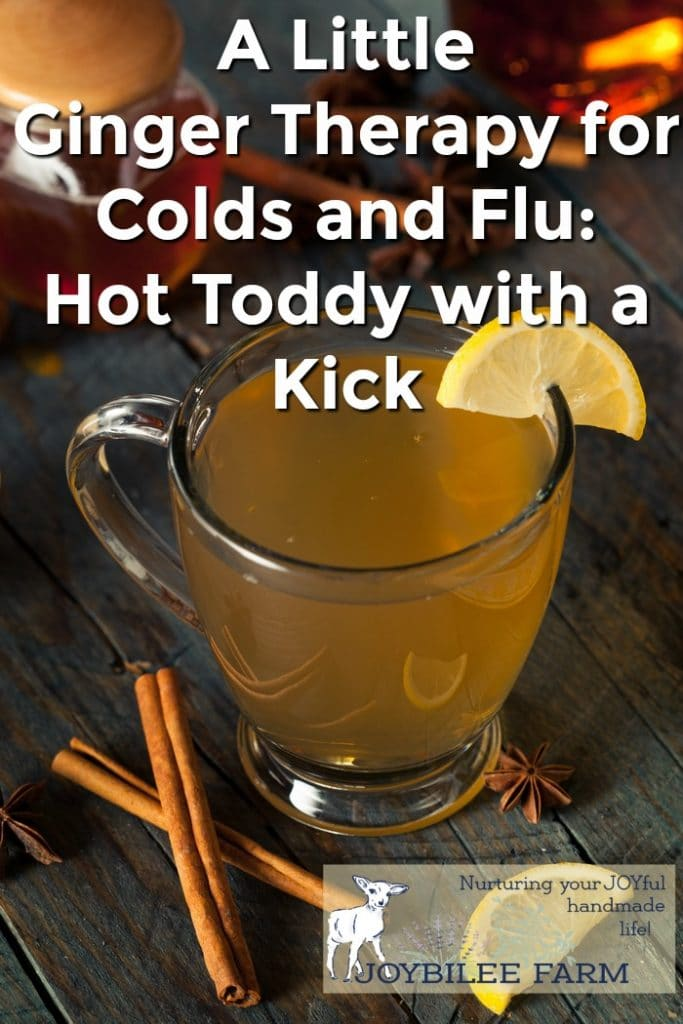 How to use Ginger for Colds and Flu with a Ginger Hot Toddy Recipe