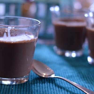 Dark Chocolate Panna Cotta That's Dairy-Free, Gluten-free, and Paleo-Friendly
