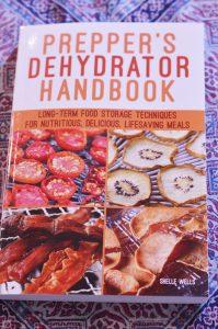 Prepper's Dehydrator Handbook Cover art