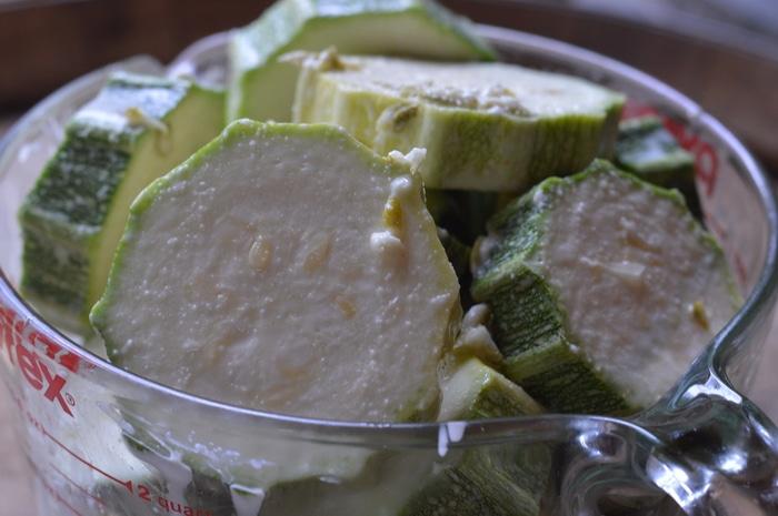 zucchini marinade