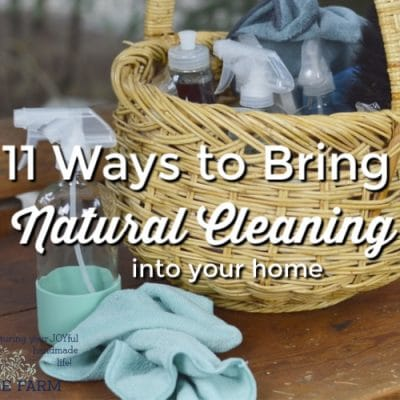 11 Ways to Bring Natural Cleaning into Your Home