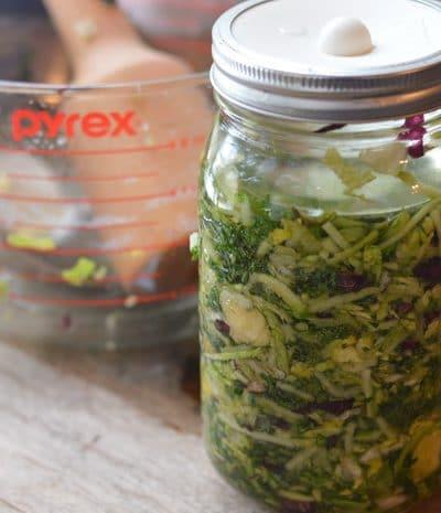 Small batch fermented sauerkraut