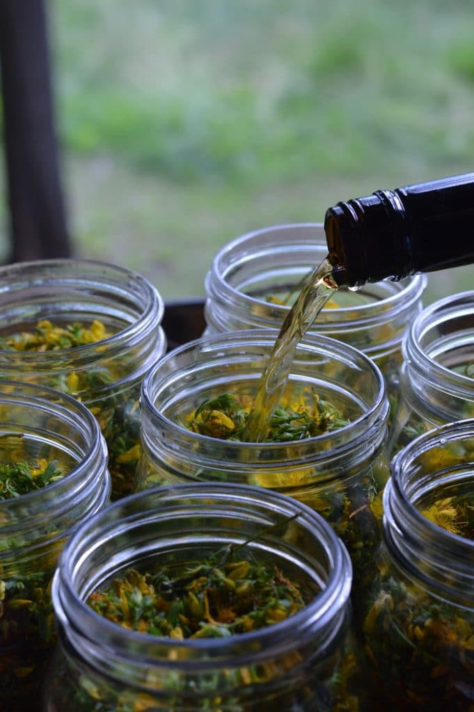 Years ago, as a novice herbalist, I experienced the healing virtue from St Johns Wort flower tincture for treating the winter blues. St Johns wort tincture acts without any food interactions or side effects, unlike the prescription MAO inhibitors.
