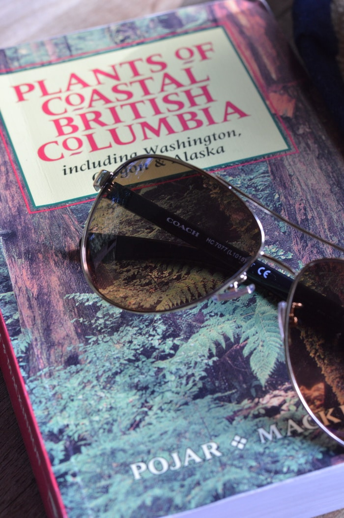book cover -Plants of Coastal British Columbia