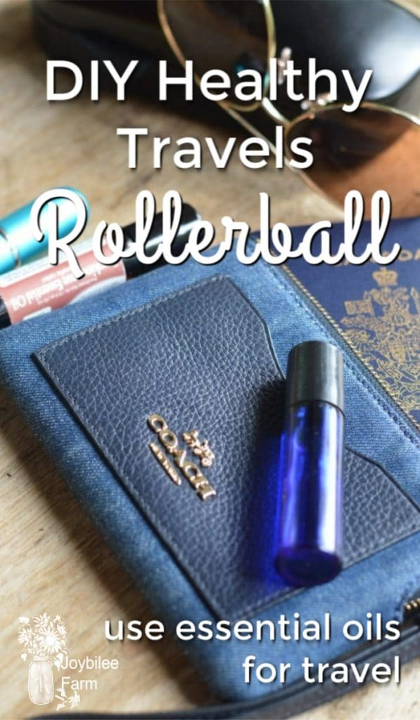 essential oil rollerball and travel items
