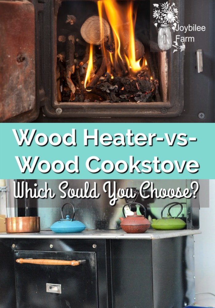 wood heater or wood cookstove