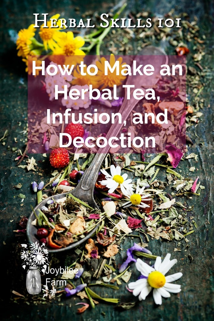 Medicinal herbs for tea and decoctions