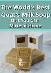 Homemade bars of soap